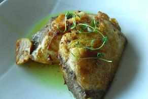 タイムを使って魚料理